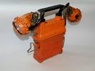 Фонарь железнодорожника аккумуляторный (ФЖА) модификации ФЖА 1.03 с двумя фарами. 2000-2009гг.